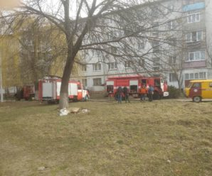 У Калуші на Богдана Хмельницького сталася пожежа(ФОТО)