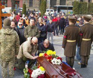 Справжній патріот України: у Львові прощались із загиблим 19-річним воїном Богданом Гаврилівом