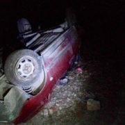 ДТП на Прикарпатті: ВАЗ перекинувся через п'яного водія Volkswagen Passat