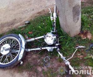 У Надвірній мотоцикл влетів у дерево: водій і пасажир загинули