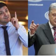 Ядерний батл між Порошенком і Зеленським – реакція росЗМІ на дебати в Україні