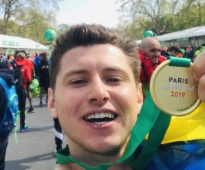 Прикарпатець фінішував на найлегендарнішому марафоні в Парижі