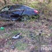 На Прикарпатті легковик вчинив ДТП на зустрічній смузі: травмувалася пасажирка. ФОТО