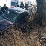 На Прикарпатті автівка з'їхала в кювет. Є постраждалі(ФОТО)