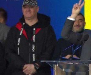 """Кошовий виправдався за матірну витівку на дебатах Зеленського і Порошенка: """"Нажрусь!"""""""