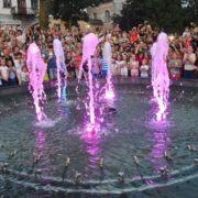 Пробний запуск фонтану в Калуші запланований на Вербну неділю