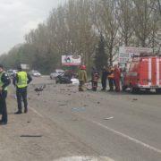 На Тисменицькій трасі зіткнулися два автомобіля