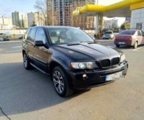 В Івано-Франківську викрали BMW X5