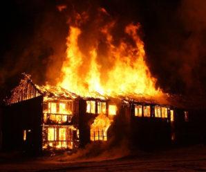 Прикарпатець ледь не спалив власну літню кухню