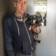 Курйоз дня: у Франківську іспанець випадково знайшов свого собаку, якого загубив два роки тому