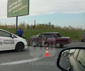 На Надрічній не поділили дорогу ВАЗ та Audi (фото+відео)