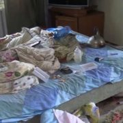 2-річна дівчинка декілька днів провела поруч з мертвими батьками (ВІДЕО)