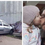 «Не зможе ходити»: авто врізалося в учасника АТО та його 4-річну дитину (фото, відео)