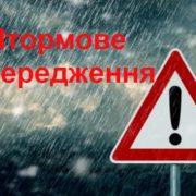 Гроза, град та посилений вітер: на Прикарпатті оголосили штормове попередження