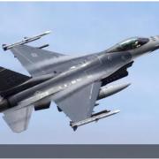 На авіабазі у Каліфорнії розбився винищувач F-16