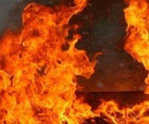 У Франківську на Целевича сталася пожежа. ВІДЕО