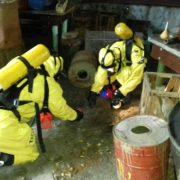 В Івано-Франківську, у підвалі багатоквартирного будинку, люди випадково виявили 8 промислових термометрів із ртуттю
