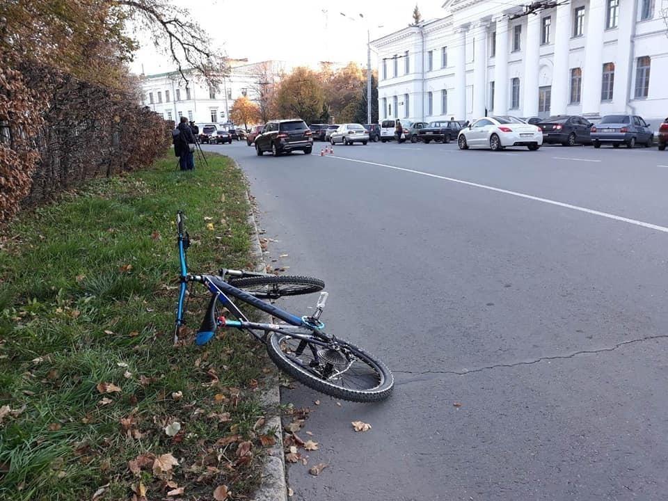 Велосипед, на якому їхав Артем Левченко