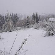 Товщина снігу на Прикарпатті сягнула 15 сантиметрів