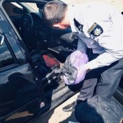 Поліцейські Прикарпатті зупинили автомобіль з наркотиками