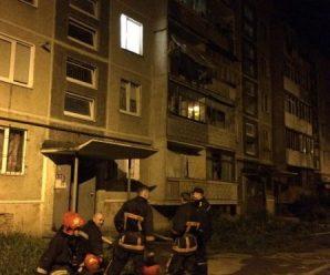 В Івано-Франківську на Хіміків трапилась пожежа