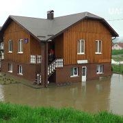 1 200 000 гривень виплатять власникам підтоплених будинків на Прикарпатті