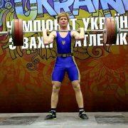 Калушанин успішно виступив на чемпіонаті України з важкої атлетики
