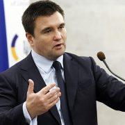 Клімкін оголосив, що йде у відставку (відео)