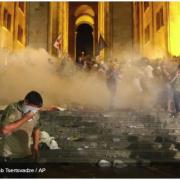 Поліція розігнала антиросійську акцію протесту в Грузії
