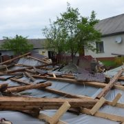 Віктор Шевченко: Буревій зніс покрівлю та частково цеглу, але попри все це маємо відновити школу в Дубовиці