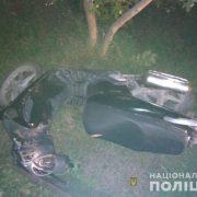 На Городенківщині молодий чоловік злетів з мопеда і загинув