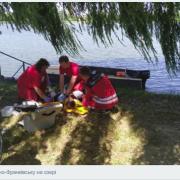 Поліція просить допомогти встановити особу жінки, тіло якої знайшли в міському озері (ФОТО 18+)