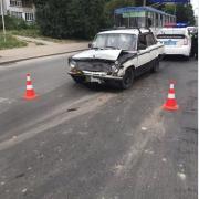 П'яний водій скоїв ДТП у Івано-Франківську. ФОТО
