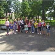 До Дня сім'ї в Калуші провели конкурс малюнків на асфальті «Тільки родина, як зірка єдина»