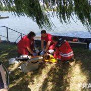 В озері Івано-Франківська потонула жінка, а її друг втік