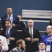 Український боксер змусив Путіна встати під час виконання «Ще не вмерла»