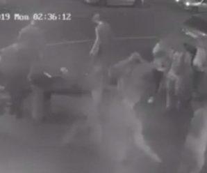 Охоронець клубу одним ударом вбив клієнта (відео)
