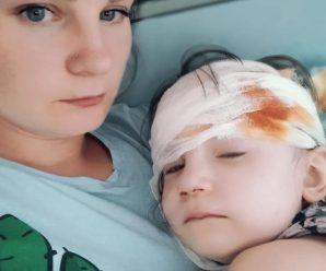 У Калуші 3-річну дівчинку травмувала гойдалка: дитина у реанімації (ФОТО)