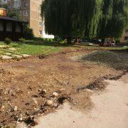 У Калуші уклали договір на влаштування паркувальних кишень біля житлових будинків