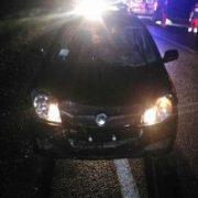 НаПрикарпатті під колесами автівки загинув пішохід