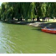 На Івано-Франківському міському озері втопилась жінка(ВІДЕО)