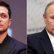 Повідомили, про що розмовляв Зеленський з Путіним