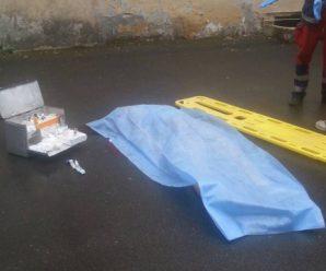 На Франківщині жінка викинулася з вікна багатоповерхівки