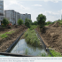 На річці Сівка в Калуші триває берегоукріплення. ФОТОРЕПОРТАЖ