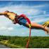 На прикарпатському курорті під час роуп-джампінгу у туристів обірвалась мотузка