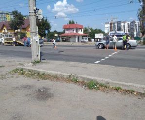 У Франківську на вулиці Тисменицькій сталася аварія. ФОТО. ВІДЕО
