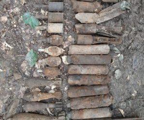 Прикарпатські піротехніки натрапили на арсенал боєприпасів у Надвірній
