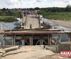 Зруйнований повінню міст через річку Чечва відбудують до кінця року
