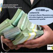 Франківець заплатив своїй дитині 113 000 гривень заборгованих аліментів