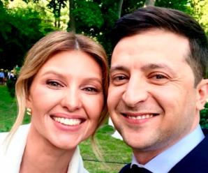 """""""Моя перша леді у червоному"""": Президент Зеленський особисто похизувався неймовірною дружиною-красунею"""